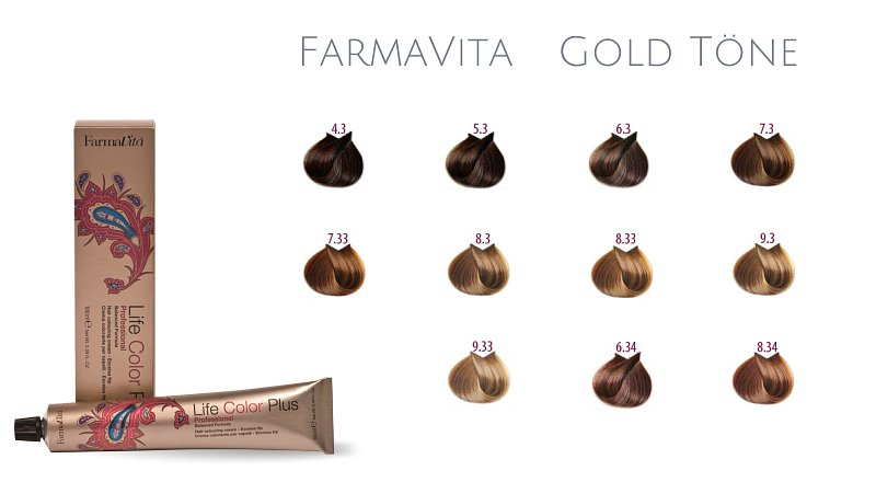 Farma Vita Life Color Plus  Professional Gold