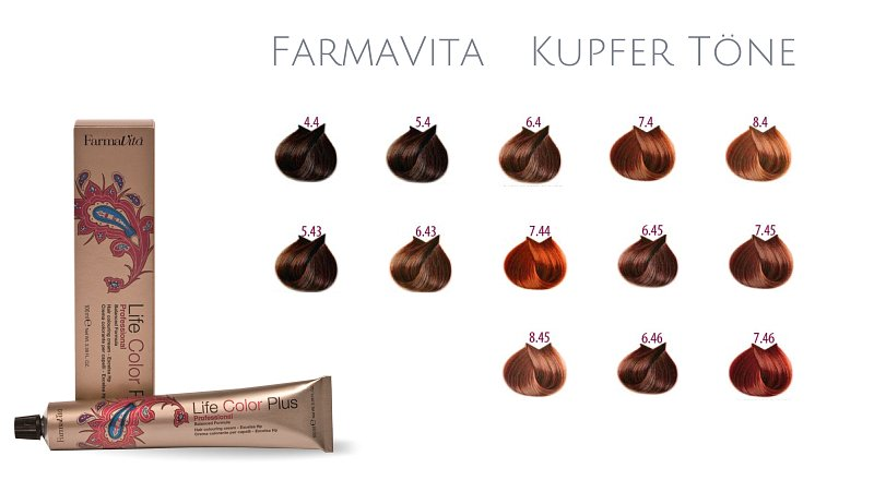 Farma Vita Life Color Plus  Professional Kupfer