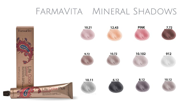 Farma Vita The Mineral Shadows Collection