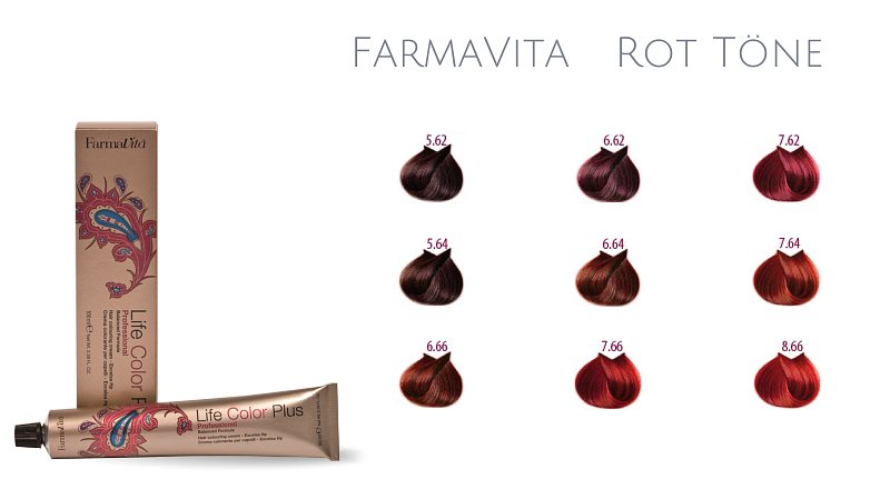 Farma Vita Life Color Plus  Professional Rot