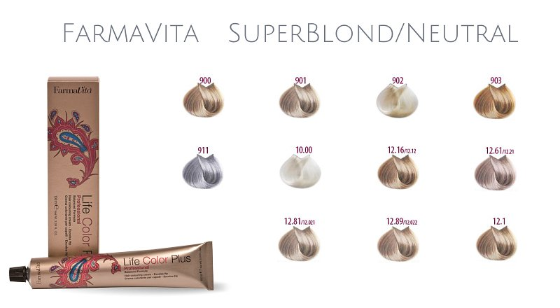 Farma Vita Life Color Plus  Professional Superblond/Neutral