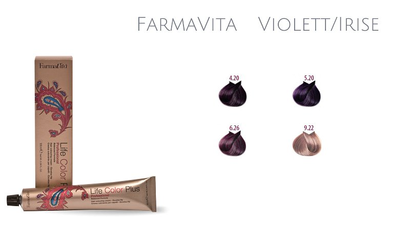 Farma Vita Life Color Plus  Professional Violett/Irise