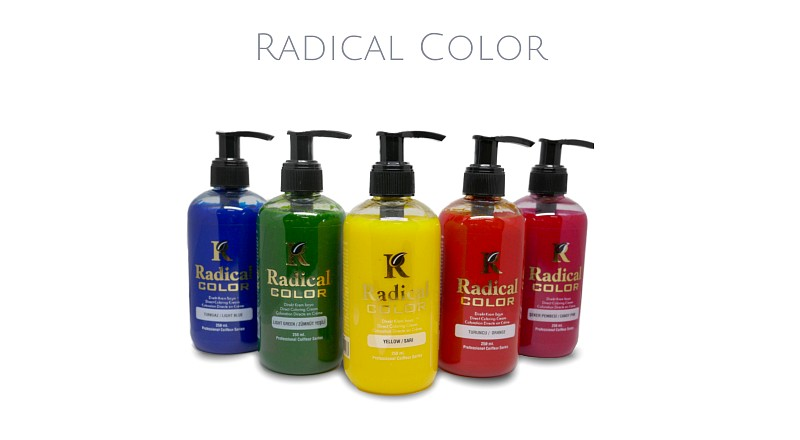 Radical Color Haarfarben