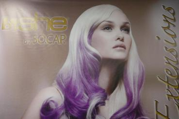 SHE Hairextension Fantasy Farben glatt 55-60 cm